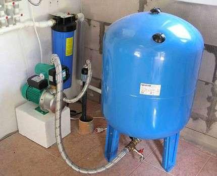 Выбор и установка расширительного бака для воды