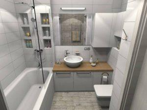 2021 ᐈ   ( 62 фото) Дизайн ванной комнаты с туалетом с душевой